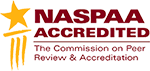 NASPAA Accredited | The Commission on Peer Review & Accreditation