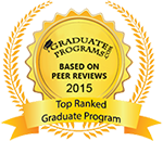 Top Ranked Graduate Program | Based on Peer Reviews 2015